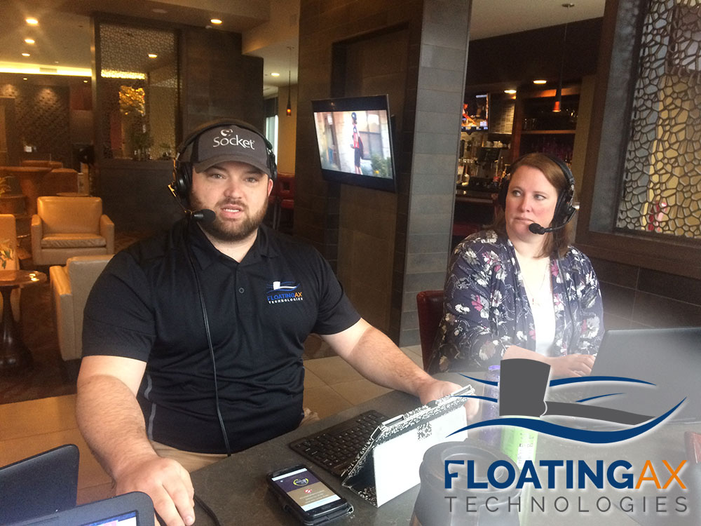 Ellis Benus of Floating Ax Technologies Web Design Custom Software Development and Digital Marketing in Columbia Missouri MO on the Tom Bradley Morning Radio Talk Show